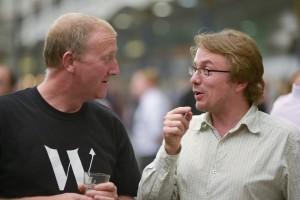 Andy Hamilton telling a pub fact