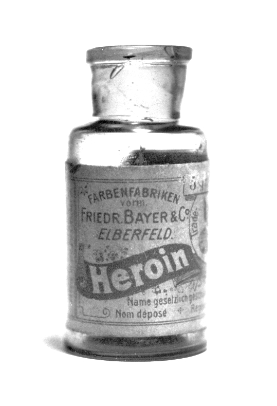 A bottle of Heroin