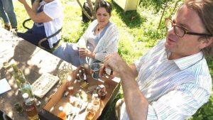 Andy Hamilton's gin safari